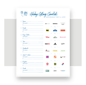 ShopWithScrip Holiday Gifting Checklist