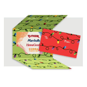 ShopWithScrip Holiday Gift Card Wrappers
