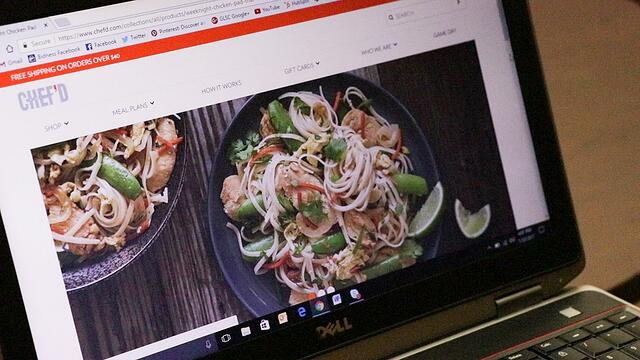 Weeknight Chicken Pad Thai profile on Chefd.com