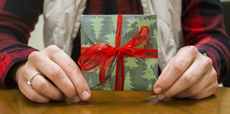 DIY Gift Card Wrapper