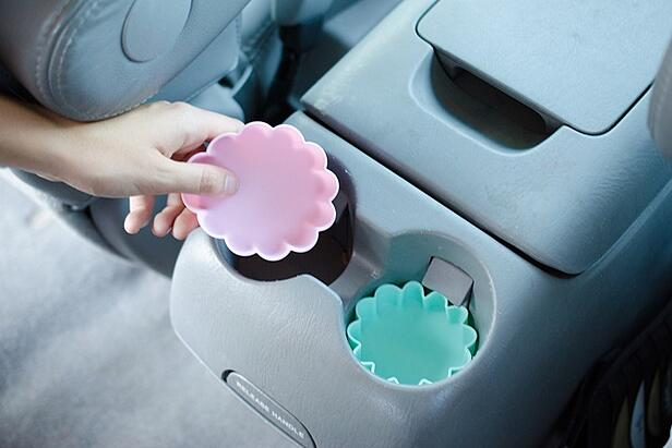 Protect cup holders from spills