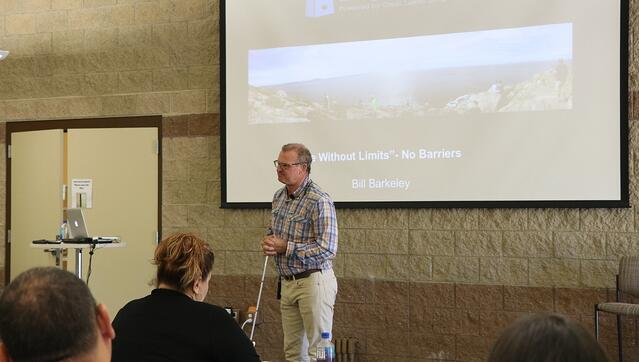 deaf-blind_adventurer_and_storyteller_Bill_Barkeley_speaking_at_RPS