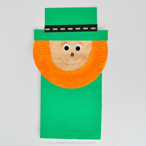 PaperBagLeprechaunPuppetCraft