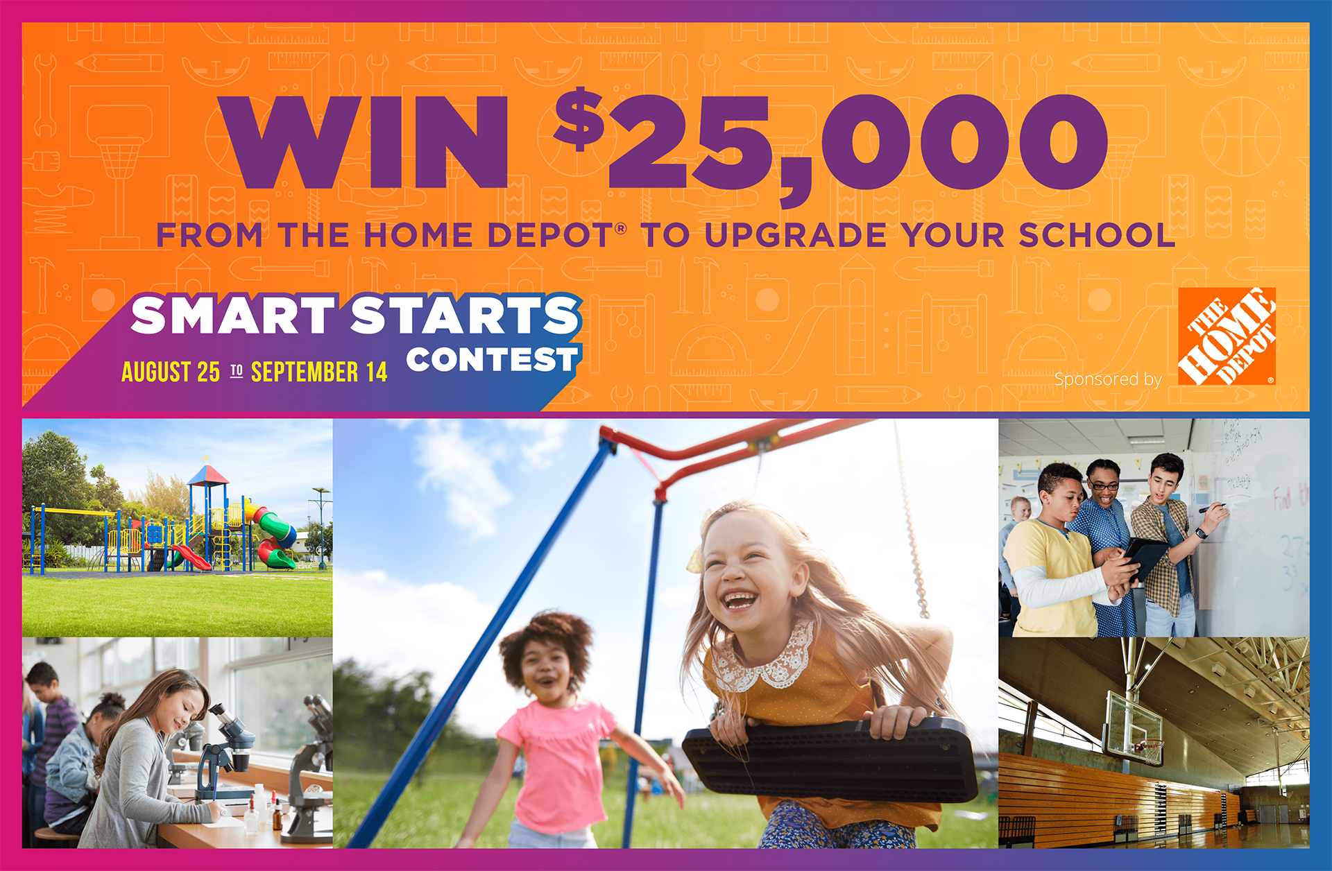 Win $25,000 from The Home Depot to Upgrade Your School
