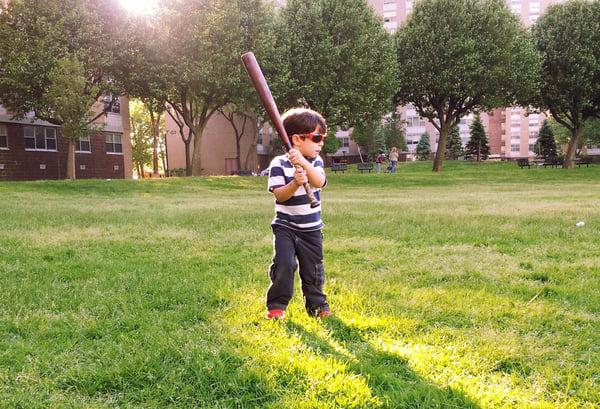 Yard baseball