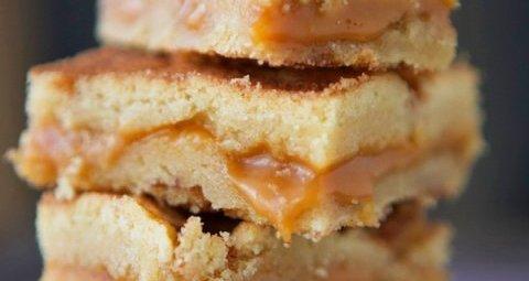 snickerdoodle caramel bars