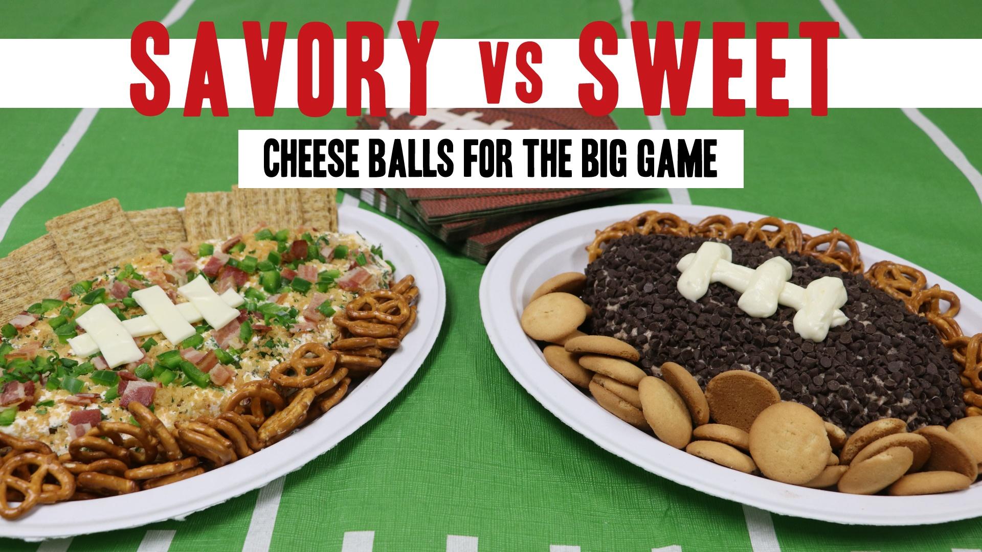 Super Bowl Party Cheese Ball Recipes: Savory vs. Sweet Showdown
