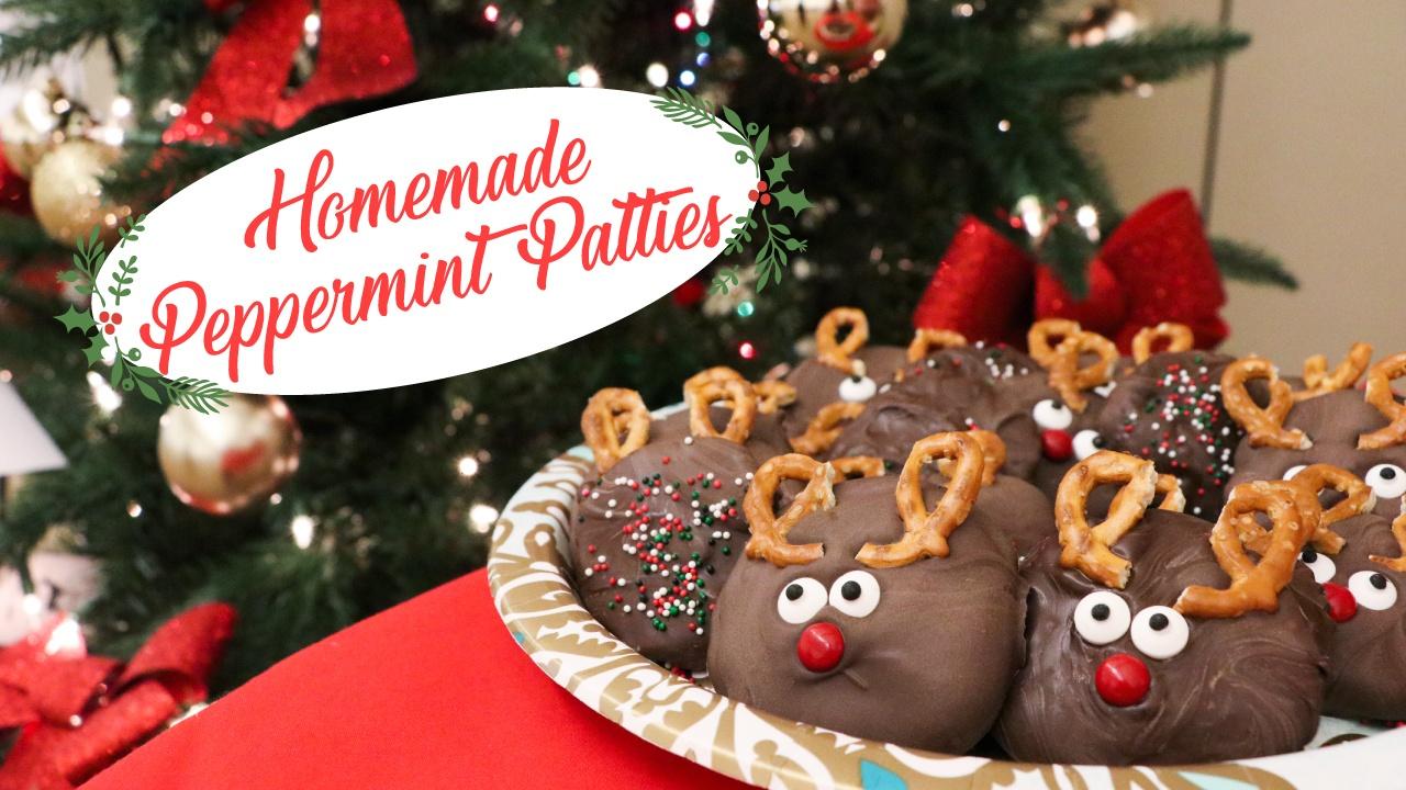 Easy Christmas Treat Recipe: Peppermint Patties