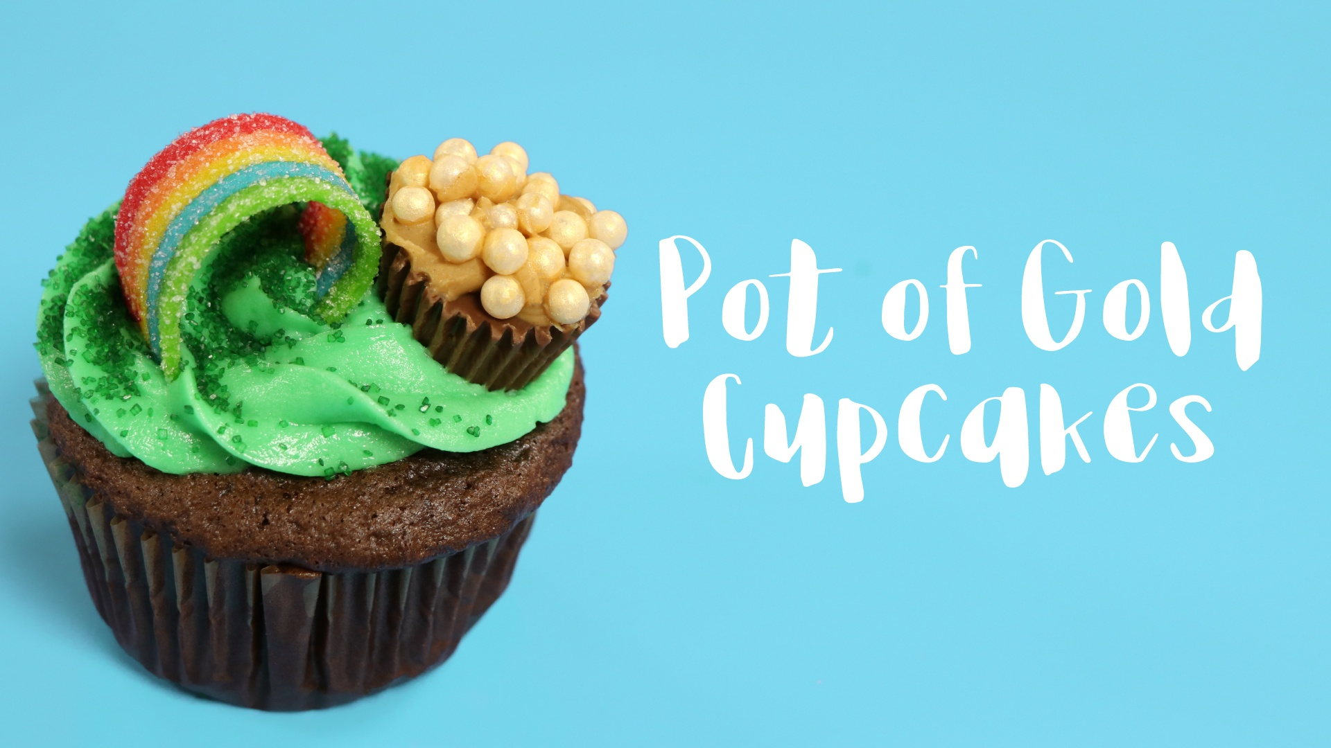 St. Patrick's Day Recipe: Pot of Gold Cupcakes