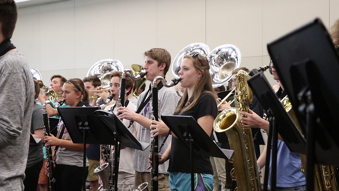 High School Band Fundraises for Macy's Thanksgiving Day Parade